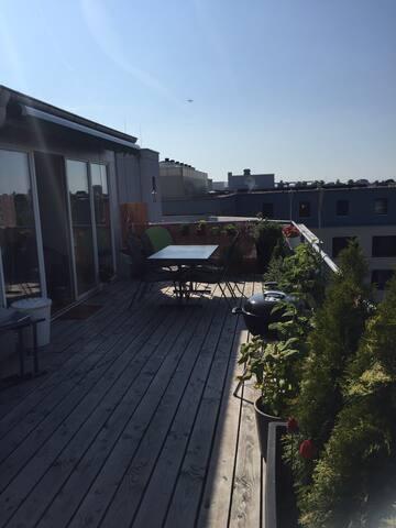 Wunderschöne, moderne Dachwohnung - Bazel - Appartement