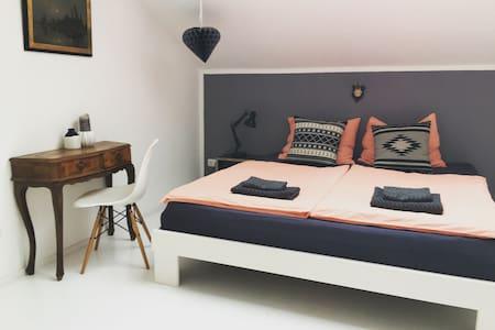 Zimmer auf dem Bauernhof &Bergblick - Haus