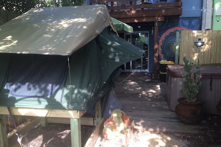 Outdoor Living Beachside. - Cape Canaveral - Tent