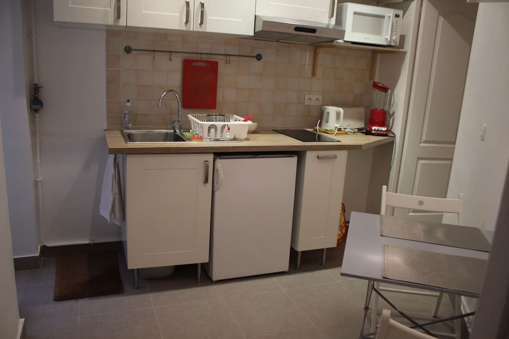 New equipped kitchen