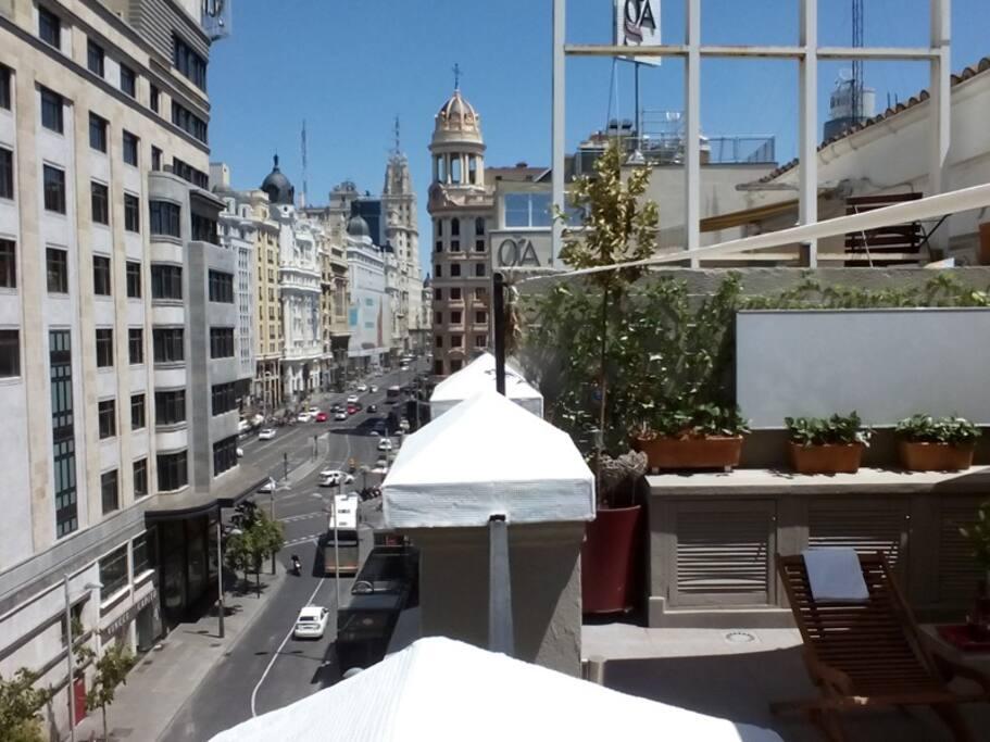 Tico con terraza en callao apartamentos en alquiler en madrid comunidad de madrid espa a - Apartamentos de alquiler en madrid ...
