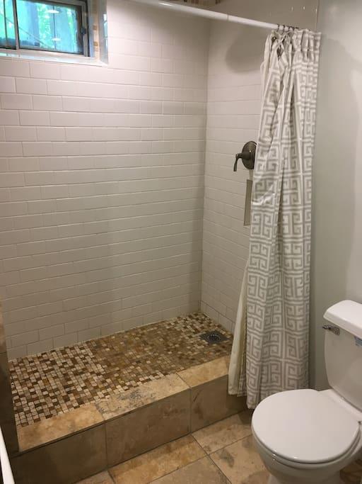 Shower no tub