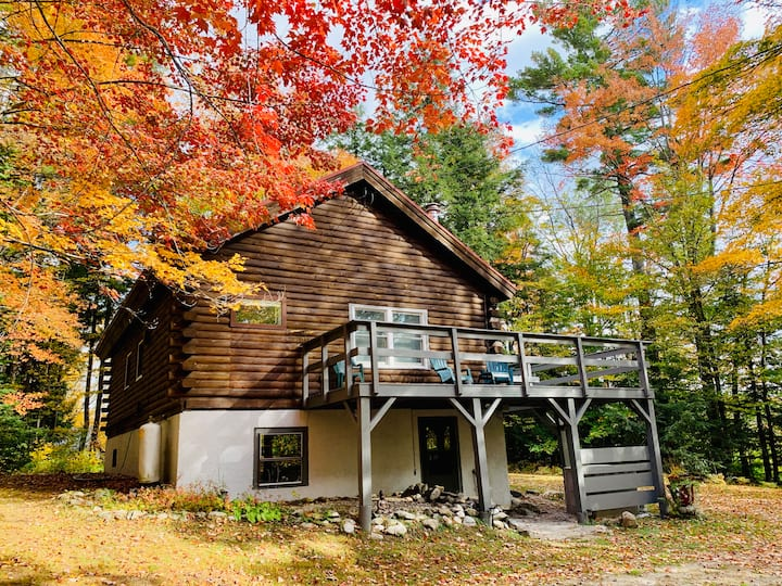 Your Vermont Log Cabin Escape!