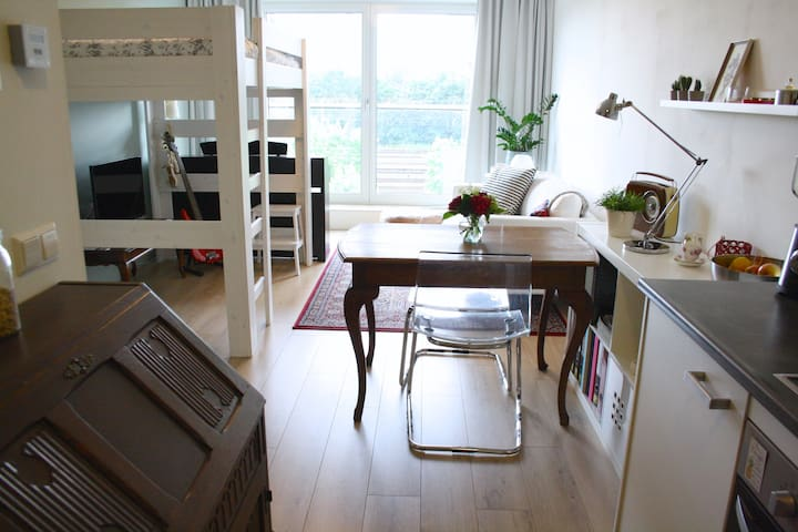 Cozy and comfortable studio, east of Amsterdam