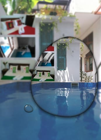Villa in Panadura with Plunge pool and jacuzzi