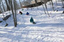 Sledding is so much fun for kids.
