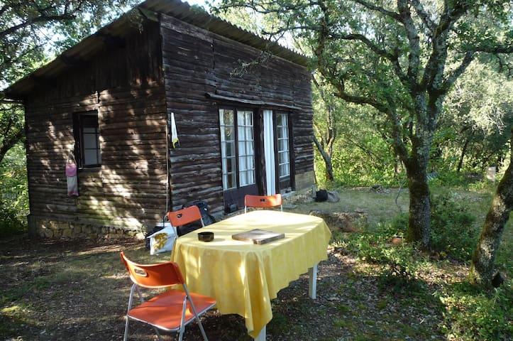 Roquebuse, jolie cabane en Périgord