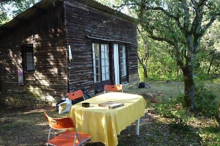 Roquebuse, jolie cabane en Périgord - Mauzac-et-Grand-Castang - 小木屋