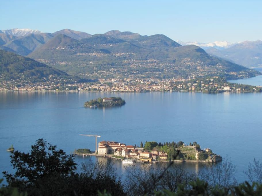 Verbania view from Borromeo Islands