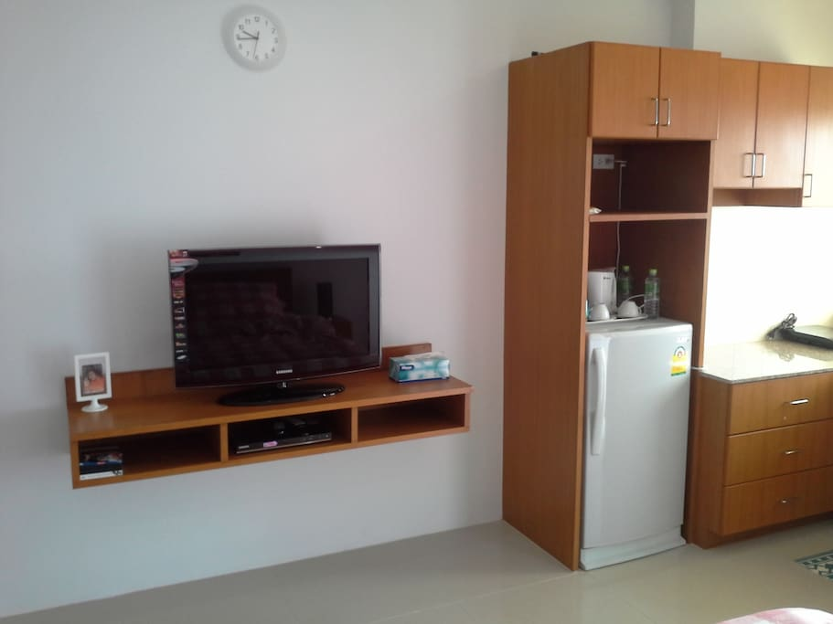 Television & Refrigerator