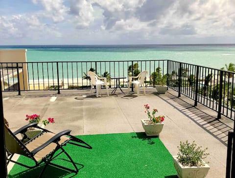 Premium - Top Floor- Beachfront Unit! Coral B 1605