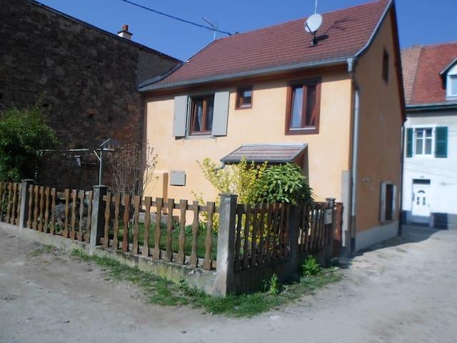 Maison de village - Soultz-Haut-Rhin - Dům
