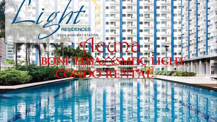 SMDC Light Residences 1Bedroom For Rental - Boni - Mandaluyong - Wohnung