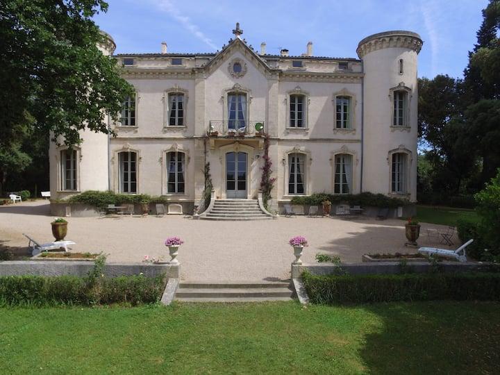 Appartement dans château sur Propriété viticole