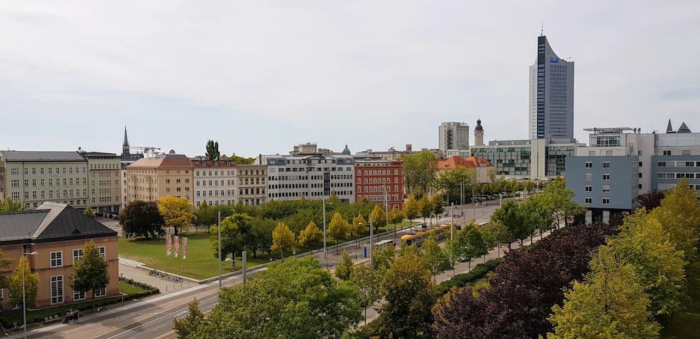 Maisonette Wohnung über den Dächern von Leipzig