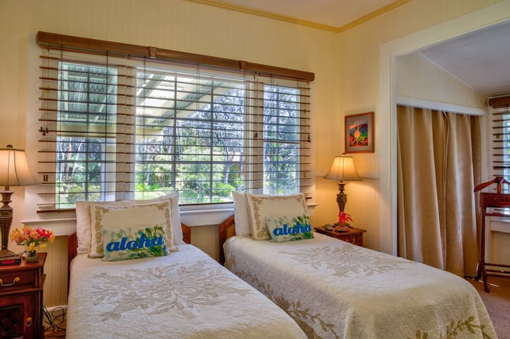 2nd bedroom can be converted to a king bed.