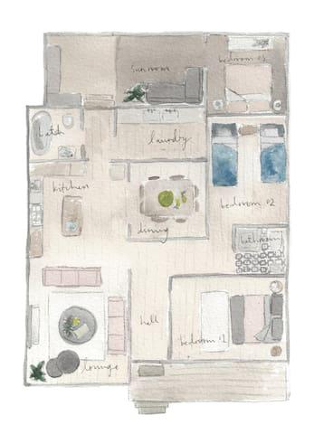 House plan by Pip Compton