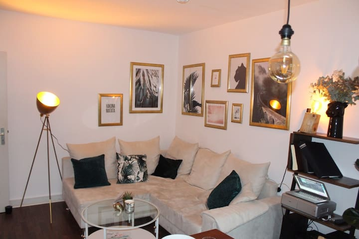 Central, spacious, cosy apartment close to Alster
