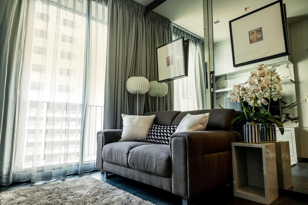 New Cozy Home In Asoke By Mrt Bts And Terminal21 Appartements En R Sidence Louer Bangkok