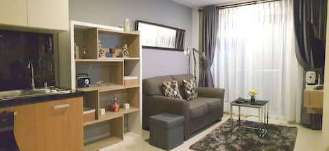 2  BR APARTMENT DI BALIKPAPAN  BRIGHT & HOMEY