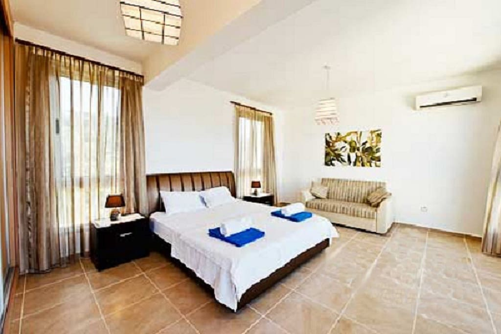 Your very large master bedroom