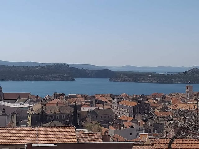 Sunny Inn Rooms - Room 3,  Sibenik, Panoramic View