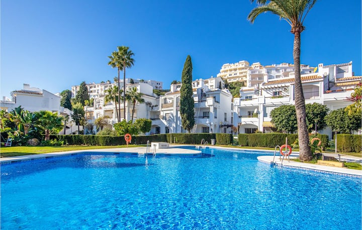 Holiday apartment with 2 bedrooms on 65m² in Mijas