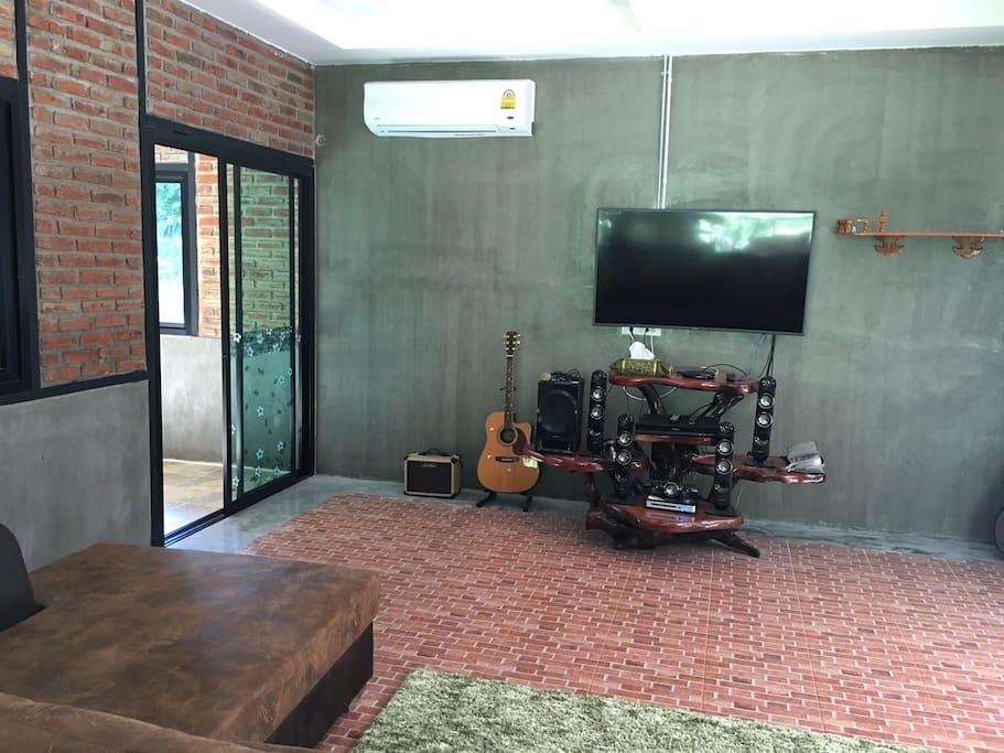 living TV Room 20 sqm