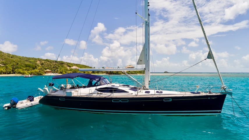 Luxury Crewed Sailing Yacht, All Inclusive, BVI's