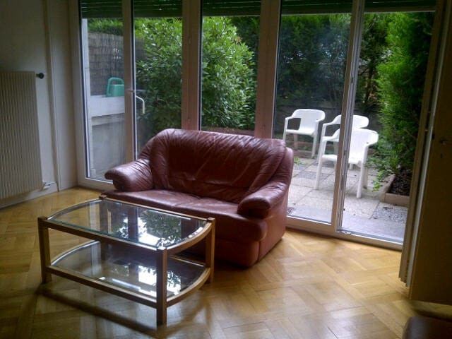 Charming apartment with garden - Cenevre - Daire