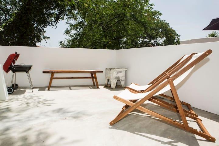 Appartement de 2chambres avec terrasse, Graça