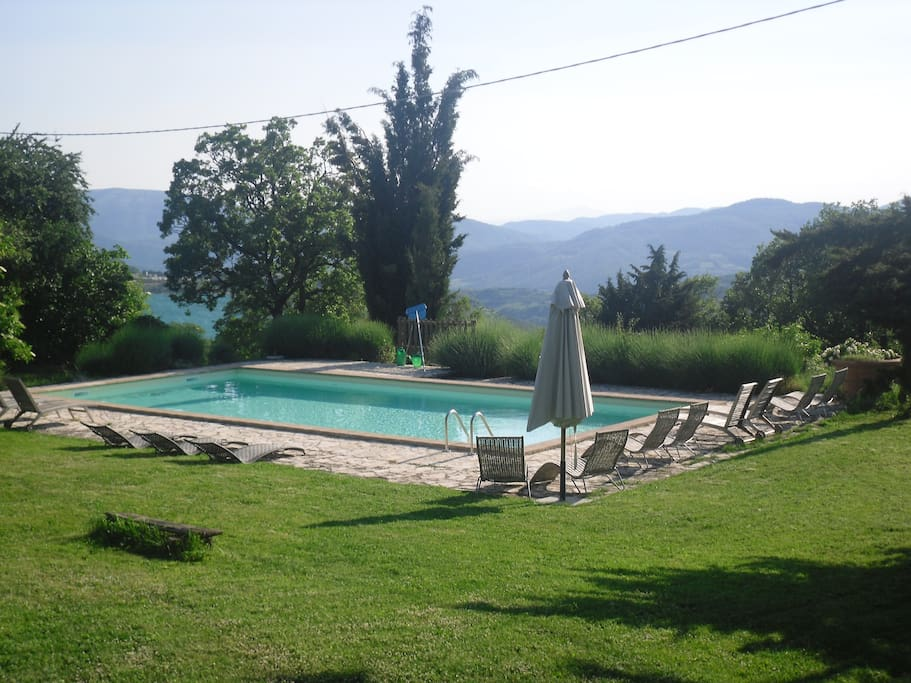 "Villa with pool ""Il Tamantino""."