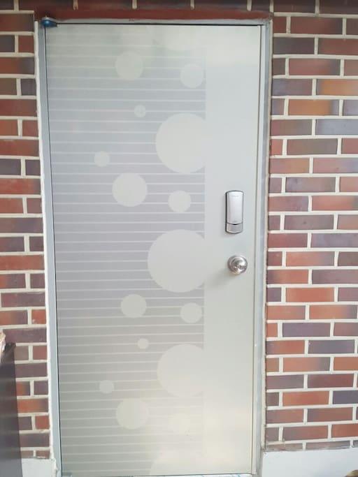 Digital doorlock on R1