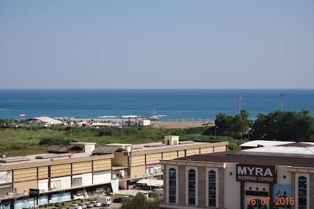 Semra's new luxury apt with pool - Antalya
