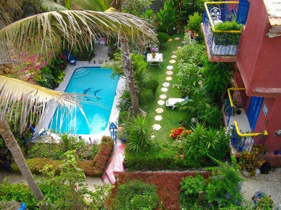 Splendide villa avec piscine et jaccuzi case in affitto for Splendide planimetrie della casa