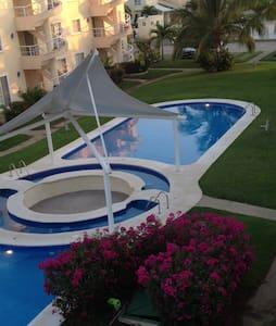 Depa con roof garden Puente del mar - Appartement