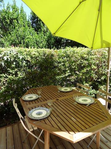 Rez de jardin terrasse bois - Montpellier - Apartamento