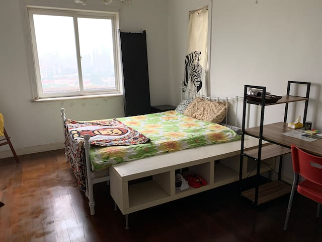 Jiaotong uni big single room:)welcome to the party
