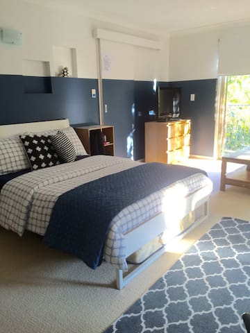 Beachstyle modern large studio room - Currumbin - Huis