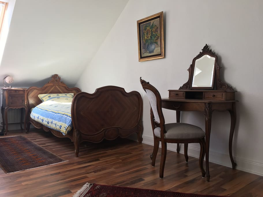 Die kaffeem hle gelbes zimmer chambres d 39 h tes louer for Chambre hote die