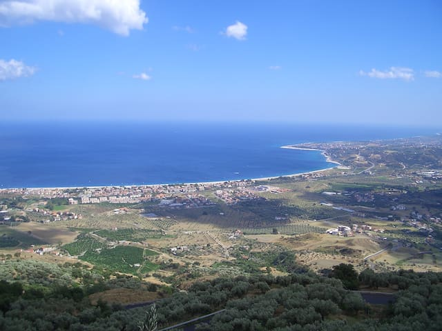 Hill top, sea and relax - Palermiti - Apartamento