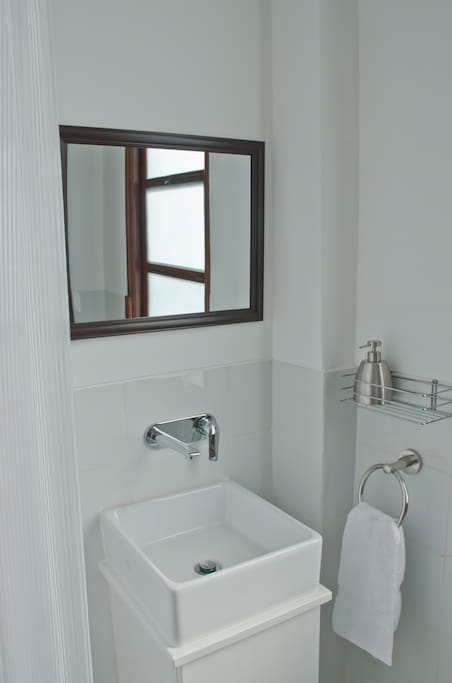 Inside View of the Bathroom