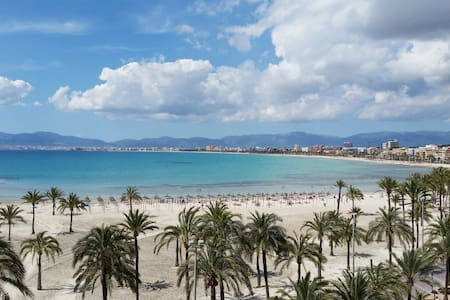 Beachfront. Apartment Room 1 Arenal - Llucmajor - Apartemen