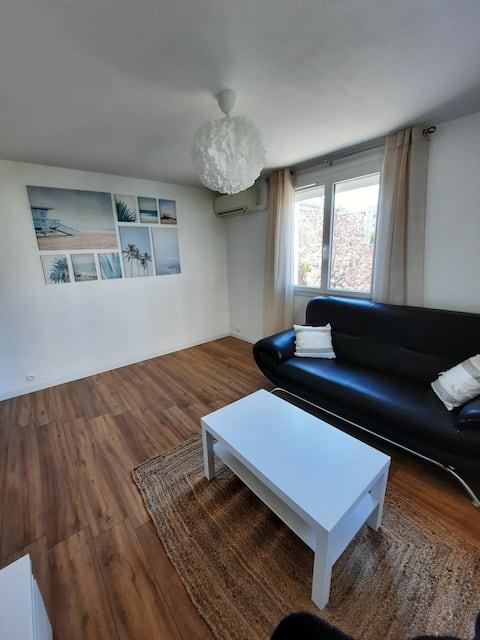 Appartement T3 individuel + parking réservé