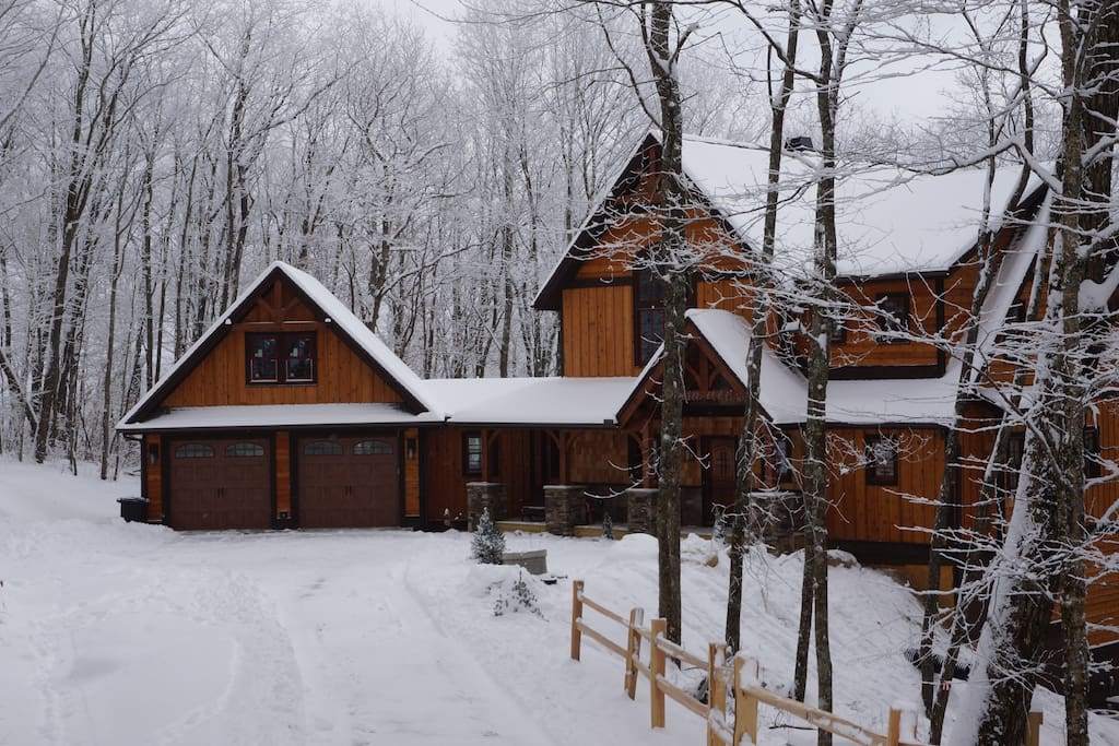 You will love the way this home looks on a snowy morning.