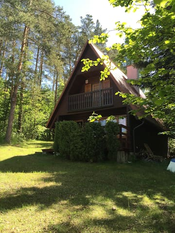 Cottage by the lake. - Kretowiny/Morąg - Maison