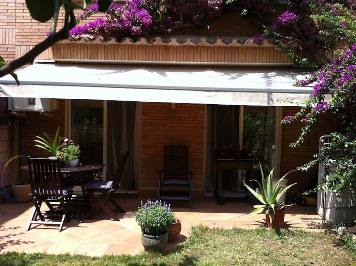 30m2 room +private bathroom&terrace