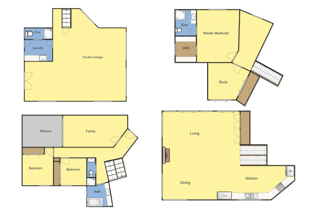 Floorplan - 4 levels