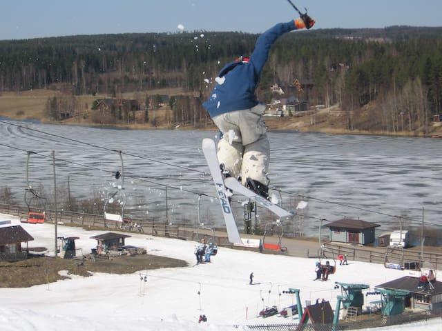 HimosKukkula, ski & golf, 140 m2 - Jämsä - Huis