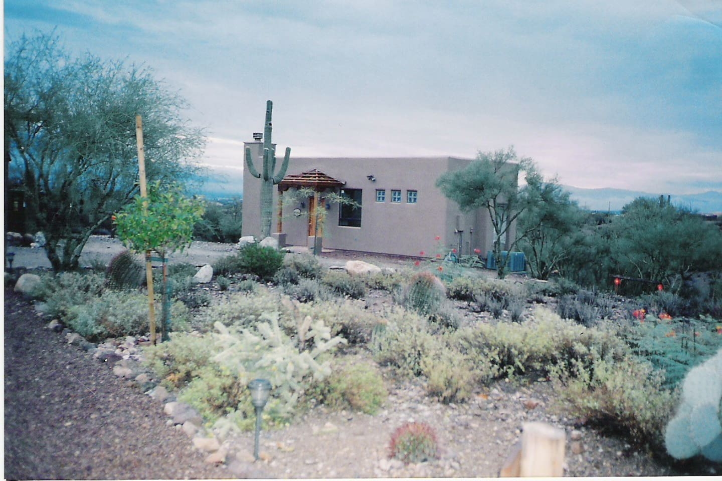 OUTSIDE VIEW OF THE HACIENDA HIDEOUT